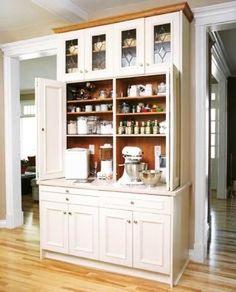 Baking center, pantry