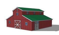 Monitor barn plans barn style houses pinterest barn for Monitor barn kit