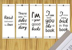 deviantART: More Like Printable Bookmarks by ~ClementineCreative