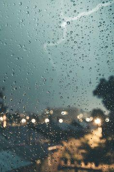 Rain � Rain photography window, rain drops.