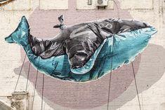 Large-scale Murals & Street Art by Nevercrew – Inspiration Grid   Design Inspiration #streetart #art #mural #graffiti #urban #street #inspirationgrid