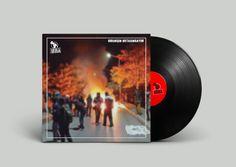 """İNHA Music Band, """"Direnişin Ortasındayım"""" Vinyl Design"""