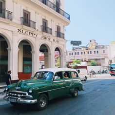 Vintage Car in Cuba - the fashion girl's new hotspot.
