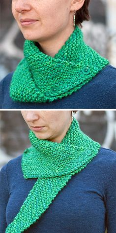 Free knitting pattern for Easy Dissymmetry Neckwarmer - Buttoned cowl knit in ga. - Free knitting pattern for Easy Dissymmetry Neckwarmer – Buttoned cowl knit in ga… – Free Knitting Patterns Designer Knitting Patterns, Shawl Patterns, Knitting Designs, Knitting Patterns Free, Crochet Patterns, Easy Patterns, Free Pattern, Sweater Patterns, Knitting Tutorials