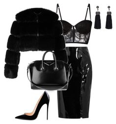 """""""Untitled #344"""" by mswrightstyles on Polyvore featuring Topshop Unique, I.D. SARRIERI, Givenchy and Nush"""