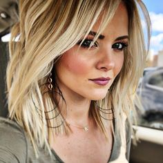 80 Bob Hairstyles To Give You All The Short Hair Inspiration - Hairstyles Trends Short Shag Hairstyles, Summer Hairstyles, Medium Hair Styles, Curly Hair Styles, Short Straight Hair, Hair Color And Cut, Pinterest Hair, Great Hair, Hair Lengths