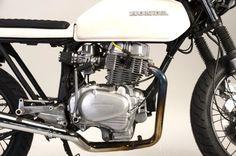 Honda CB400 cafe racer by Steel Bent Customs | Custom Motorcycles & Classic Motorcycles - BikeGlam