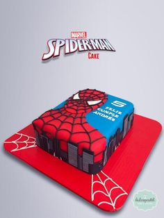 Spiderman Cake Ideas for Little Super Heroes - Novelty Birthday Cakes Spiderman Birthday Cake, Spiderman Theme, Superhero Cake, Boy Birthday, Novelty Birthday Cakes, Fun Cupcakes, Cakes For Boys, Themed Cakes, Baby