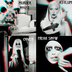 If you haven't heard, Lady Gaga is going to star in American Horror Story: Hotel.
