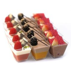25pcs dessert shooter party box