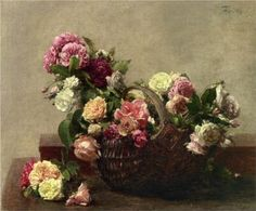 A Basket Of Rose - HenrFantin Latour (1880) or Power, Corruption & Lies - New Order