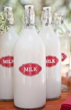 Can you remember a milk man coming to your door in the Country?