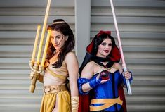 Princesses of the force! ✨ Had a blast as Jedi Belle yesterday with as Sith Snow! Photo by Belle lightsaber by and Snow saber by Jedi Belle costume by Sith Snow White costume by Belle Cosplay, Disney Cosplay, Disney Princess Cosplay, Jedi Cosplay, Belle Costume, Marvel Cosplay, Jedi Princess, Disney Costumes, Group Cosplay