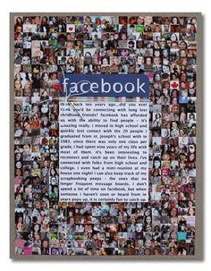 Scrapbook with Facebook. Celeste Smith.