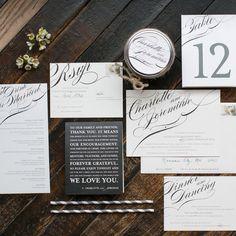 Ideas para invitaciones y papelería de bodas