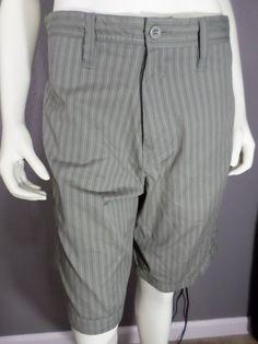 Gotcha Pinstriped Shorts - Size 30 #Gotcha #CasualShorts