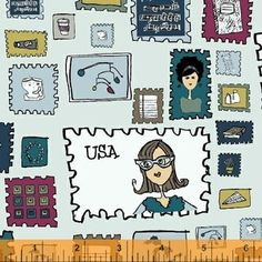 Heather Givans - Paper Obsessed - Stamp Collection in AM Deliver