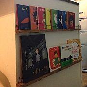 On Walls/DIY/絵本/ウッドブラインド/子供の作品/絵本棚 手作りのインテリア実例 - 2015-06-01 10:08:11 | RoomClip (ルームクリップ)