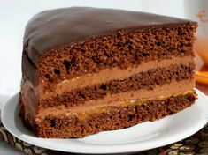 "Lahodný dort ""Praha"" s jednoduchou přípravou! Toilet Paper Flowers, Kefir, Vanilla Cake, Tiramisu, Banana Bread, Ricotta, Cooking, Ethnic Recipes, Food"