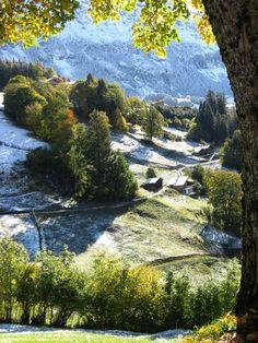 Wengen, Switzerland. October 2012.