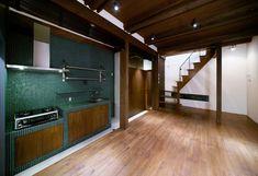 キッチン(Nzuri 昭和初期の面影を残す京町家を全面的にリノベーション)- キッチン事例|SUVACO(スバコ)