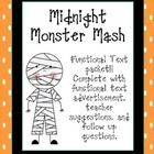 This is a functional text advertisement. It is great to use in October or around Halloween. This advertisement is great to foster active particip...