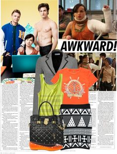 """Awkward"" by hannahrox313 ❤ liked on Polyvore"