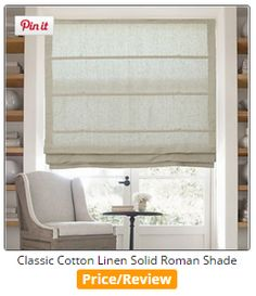 Best Fabric Linen Relaxed Roman Shades For Windows French Doors Pinterest