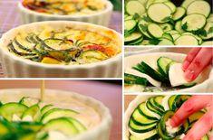 Le délicieux clafoutis à la mozzarella et aux courgettes - La Recette