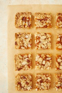 Apricot Almond Oat Bars have such wonderful flavor. These are so easy to make and very quick to disappear! - Bake or Break #oatbars #quickandeasydessert #apricot #almond ~ http://www.bakeorbreak.com