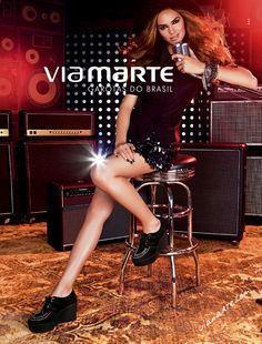 Campanha #viamarte Inverno 2013 | #creepers #winter2013 #shoes #trend