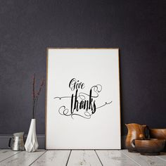 Christian wall decor  count your blessings print  by ParisStore