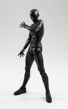 Tamashii: Man BLACK S.H.Figuarts Action Figure - AnimePoko.com