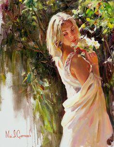 michael and inessa garmash paintungs | Gary Ayvazian - ''Irina'' and Michael…