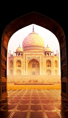 Door to the Famous Taj Mahal | 20+ Amazing Photos of India, a Fascinating Travel Destination