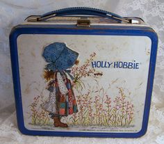 Collectible Holly Hobbie Vintage lunch box I had this one too!  =Me too, still do!