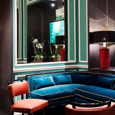 Designed by Florence-based architect Michele Bonam, the JK Place in Rome is a…