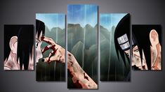 Everything on SALE & Free Worldwide Shipping! ArtSailing 5 piece canvas art HD print Naruto poster Price: $ 20.00 & FREE Shipping #nerd 5 Piece Canvas Art, Anime Toys, Artsy Fartsy, Dragon Ball, Naruto, Nerd, Posters, Manga, Free Shipping