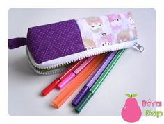 Cute owl pencil case.  I'm going to spend aaall my money on tiny bags and necessaires...
