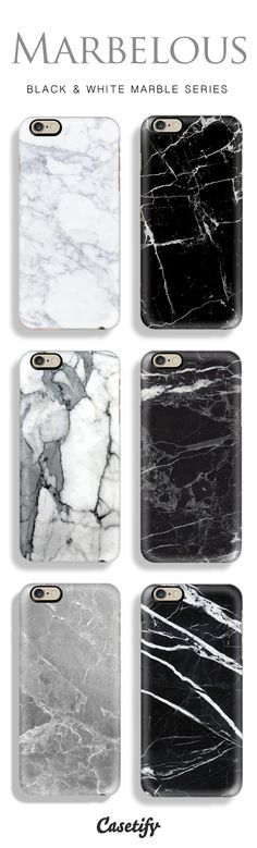 Add a chic and classic touch to your phone with our range of Marblicious designs! Shop the marble phone cases here (starting from $29.95): http://www.casetify.com/marble-iphone-case