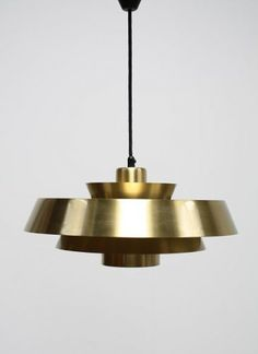 Verry happy with my latest acquisition, Nova lamp in brass by Jo Hammerborg - Thrifted at Gamla Lampor