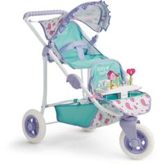 Shop American Girl online to find Bitty Baby doll furniture and accessories sets your child will love. Mix and match baby doll nursery furniture and accessories to find the perfect gift for all ages. Baby Doll Strollers, Twin Strollers, Double Strollers, Pram Stroller, Baby Dolls For Kids, Little Girl Toys, Toys For Girls, Baby Doll Toys, Baby Doll Nursery