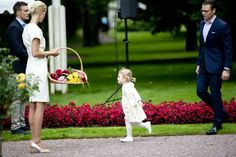 Princess Estelle at her mother's birthday celebrations 2014 at Solliden Palace