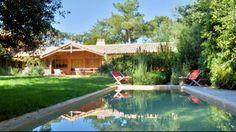 Location, Cap Ferret, Phare, Villa Courlis Avec Piscine. Immo Prestige