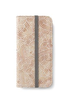 Iced coffee and white swirls doodles iPhone Wallet by @savousepate on @redbubble #iphonewallet #phonewallet #zentangle #doodles #abstract #modern #graphic #geometric #neutralcolors #brown