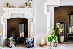 Como decorar chimeneas en desuso