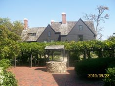 The House of the Seven Gables is located at 54 Turner Street in Salem, Massachusetts. It is listed on the National Register of Historic Places.