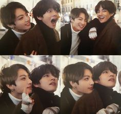 Jungkook and Taehyung [V] Kookie Bts, Bts Taehyung, Bts Bangtan Boy, Taekook, Foto Bts, Yoonmin, Kpop, Bts Pictures, Photos