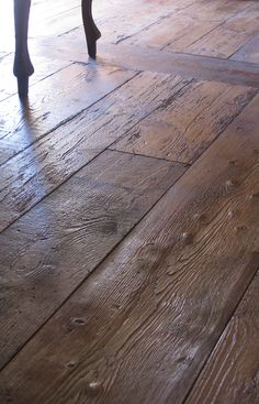 perfect rustic wood floorboards