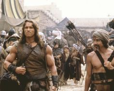 Picture of Arnold Schwarzenegger in Conan the Barbarian
